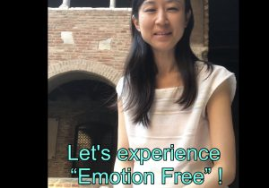 "3minutes healing ""Emotion Free""  Youtube ♡ 英語版できました"